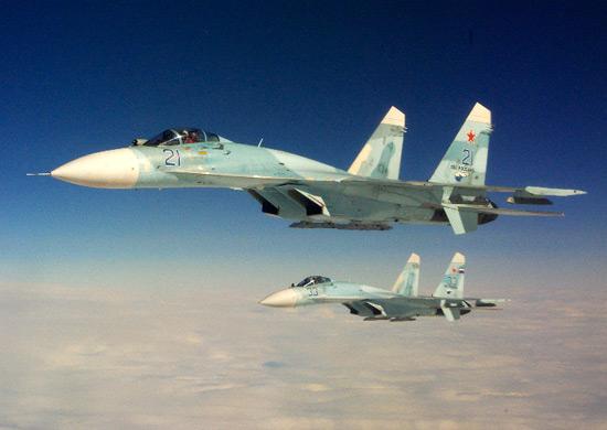Russian fighter jets scrambled 13 times in one week on interception