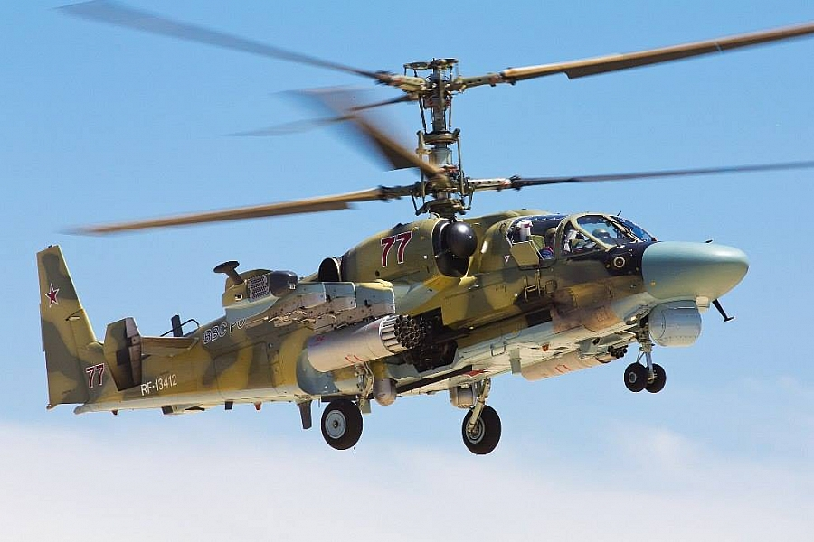 Ka-52 and Mi-8MTSh helicopters will be exhibited at Army