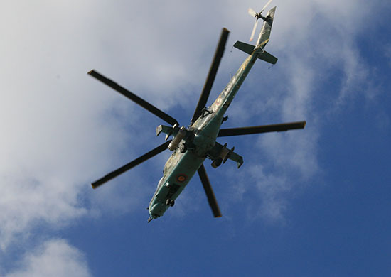 Russian helicopter pilot training center opens in Venezuela