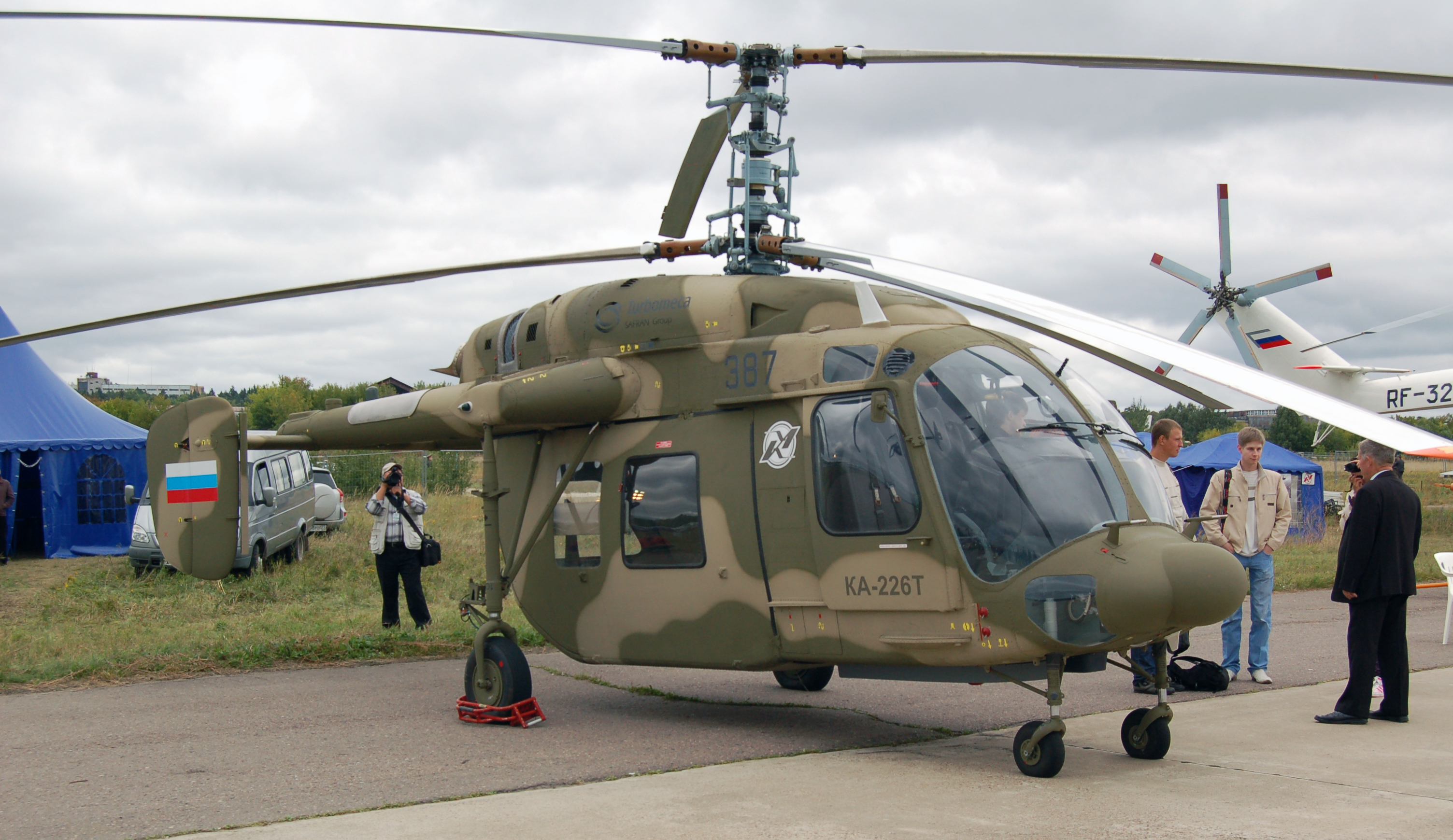 Rosguard received the first Ka-226T helicopter 34