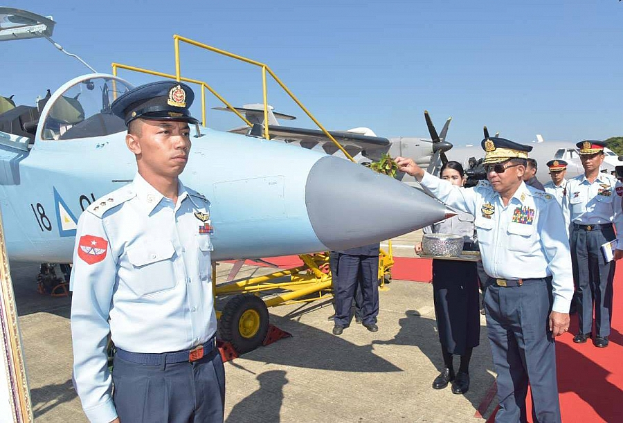 Myanmar army commissions 10 new military planes into service including six  Russian Yak-130 fighter - News - Russian Aviation - RUAVIATION.COM