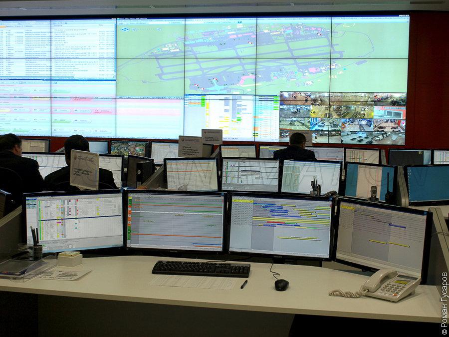 Multimedia New Control Center Of Sheremetyevo Airport Russian Aviation Ruaviation Com